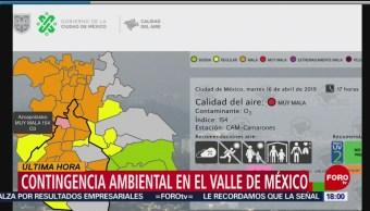 Foto: Activan fase 1 de contingencia ambiental en el Valle de México