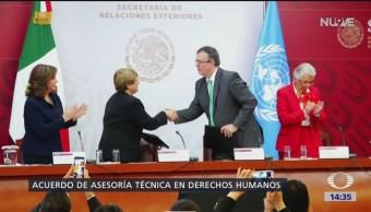 Foto: Acuerdo de asesoría técnica en el caso Ayozinapa