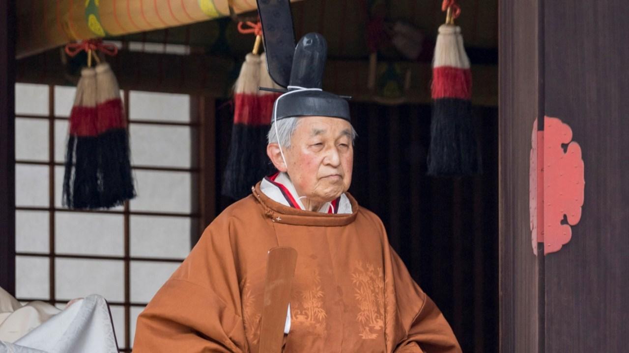 Emperador Akihito inicia rituales de abdicación