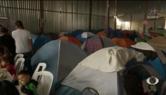 Foto: Albergues Migrantes Tijuana Máxima Capacidad 8 de Abril 2019