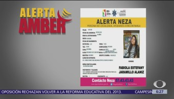 Alerta Amber: Ayuda a localizar a Fabiola Estefany Jaramillo Alanís
