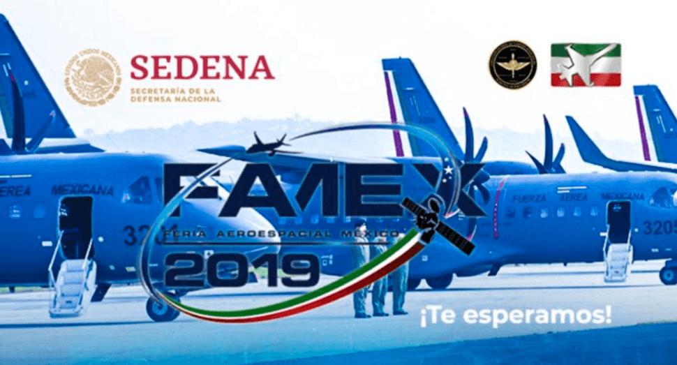 IMAGEN AMLO inaugura Feria Aeroespacial México FAMEX 201 (Sedena)