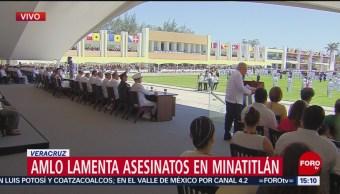 FOTO: AMLO preside la 105 ceremonia de la defensa del puerto de Veracruz, 21 ABRIL 2019