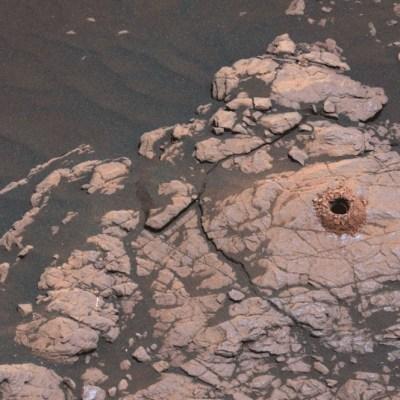 Curiosity recoge la primera muestra de arcilla en Marte