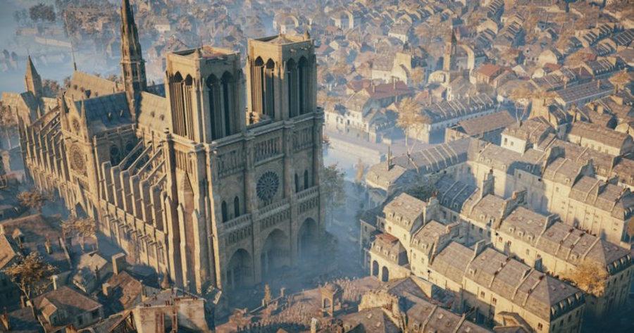 Diseñadora de videojuego podría ayudar a reconstruir Notre Dame 17 abril 2019