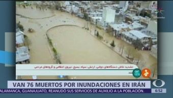 Aumenta cifra de muertos por lluvias en Irán