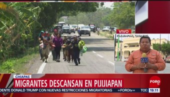Foto: Autoridades Aseguran Migrantes Pijijiapan Chiapas 22 de Abril 2019
