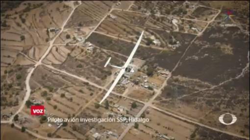 Foto: Hidalgo Buscan Huachicoleros Avión Sigiloso 6 de Abril 2019