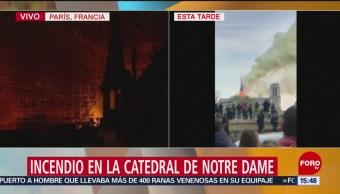 Foto: Autoridades de París responden a Trump sobre control de incendio