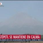 Foto: Autoridades en Santiago Xalitzitla mantienen alerta preventiva por el Popocatépetl