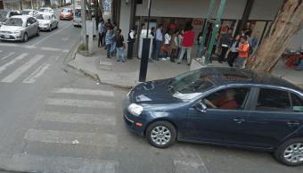 FOTO Bancos no abren este 1 de mayo (Google Maps archivo cdmx)