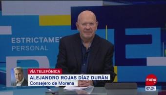 Barbosa adquirió inmuebles pagados en efectivo: Alejandro Rojas Díaz Durán