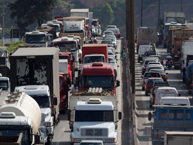 Belo Horizonte, en Brasil; una de las ciudades con mayor tránsito vehicular del país (Reuters)
