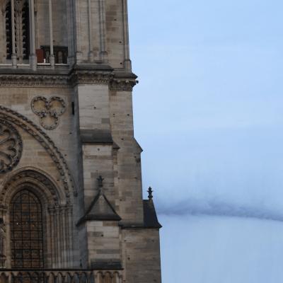 El deterioro que corroía la Catedral de Notre Dame