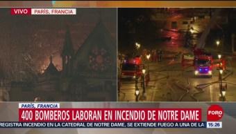 Foto: Bomberos no están seguros de detener incendio en Notre Dame