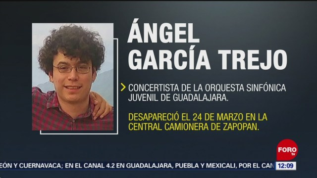 Buscan a integrante de Orquesta Sinfónica Juvenil de Guadalajara