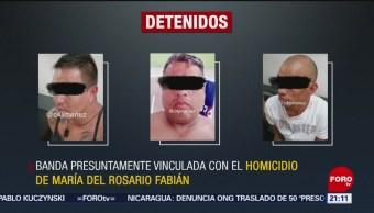 Foto: Banda Homicidio Madre Caso Bruno Perisur Abandonado 22 Abril 2019