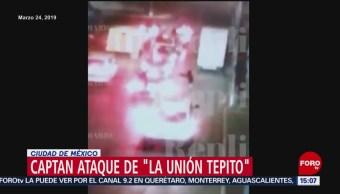 Foto: Captan ataque de la Unión Tepito en la CDMX