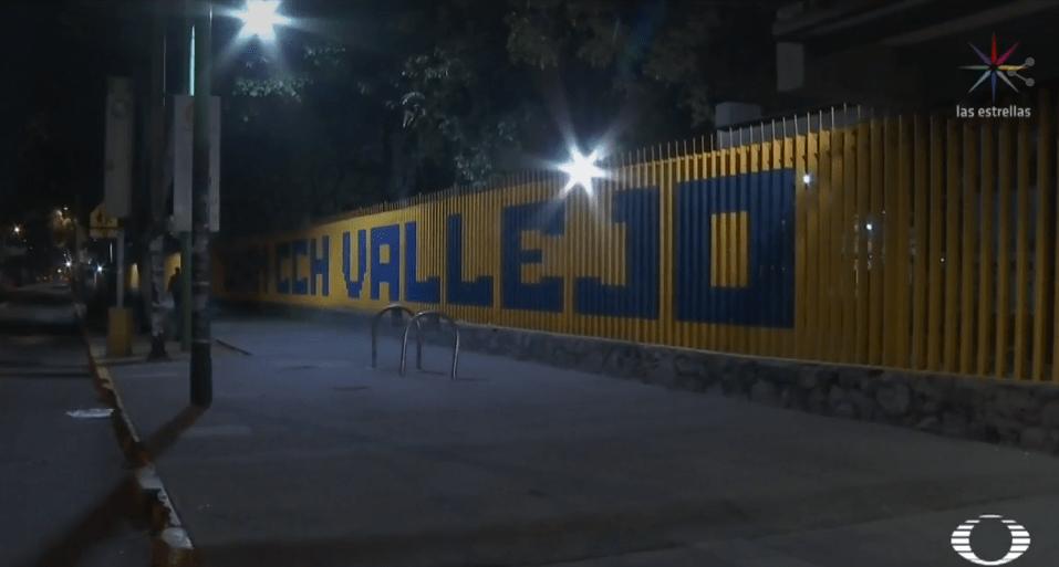 Foto: El CCH Vallejo permanece cerrado por toma de instalaciones, 2 de abril de 2019, Ciudad de México