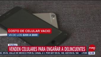 Foto: Celulares vacíos, una treta contra los ladrones