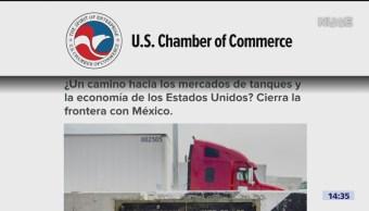 Foto: Cerrar Frontera No Solución Cámara Comercio 3 de Abril 2019