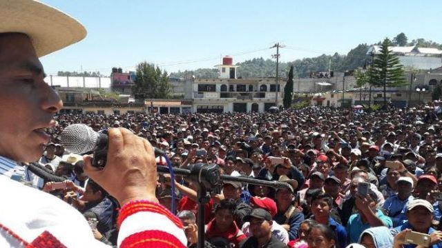 Nombran primer alcalde electo por usos y costumbres en Oxchuc, Chiapas