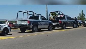 Foto: Operativo de seguridad en Chihuahua. 30 de abril 2019. (Comisión Estatal de Seguridad Chihuahua)