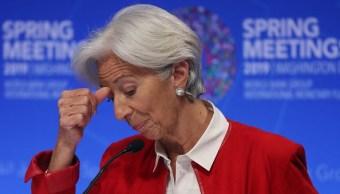 Lagarde descarta recesión; espera acuerdo entre EU y China