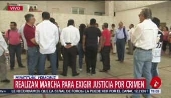 Foto: Ciudadanos Minatitlán Dialogan Autoridades Demandan Seguridad 23 de Abril 2019