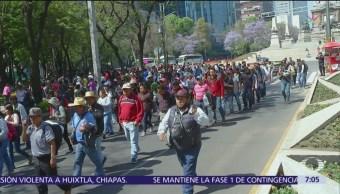 CNTE advierte que continuarán movilizaciones