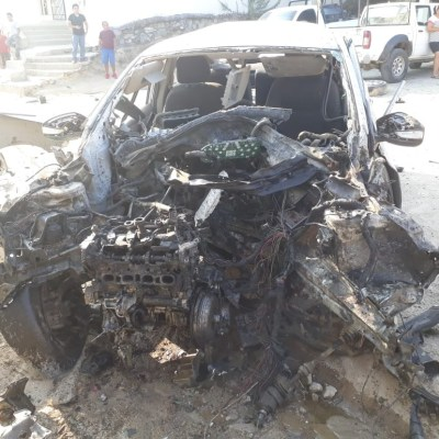 Estalla coche bomba en sede de la policía comunitaria en Xaltianguis, Guerrero