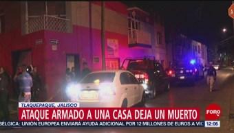Comando armado ataca a familia en Tlaquepaque, Jalisco