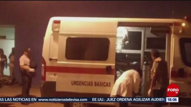 FOTO: Comando intercepta ambulancia que trasladaba a mujer herida en Guerrero, 6 de abril 2019
