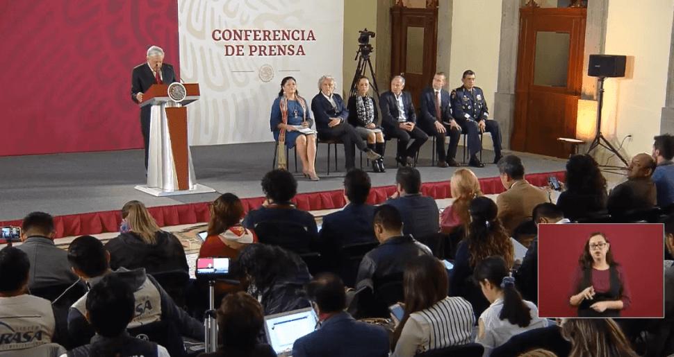 Transmisión en vivo: Conferencia de prensa AMLO 2 de abril 2019