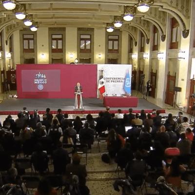Transmisión en vivo: Conferencia de prensa AMLO 9 de abril 2019 (con Bachelet)