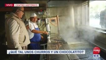 Conociendo una churrería de 84 años de historia