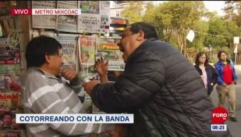 #CotorreandoconlaBanda: 'El Repor' suelto en metro Mixcoac