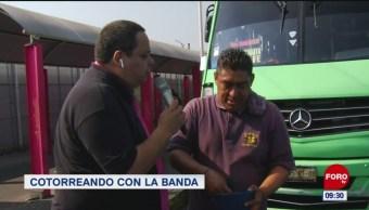 #CotorreandoconlaBanda: 'El Repor' suelto en Tacubaya