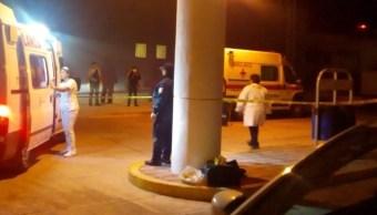 Foto: Hombres armados asesinan a mujer herida bordo de una ambulancia de la Cruz Roja en Chilpancingo, Guerrero, abril 6 de 2019 (Twitter: @Alans_company)