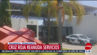 FOTO: Cruz Roja reanuda servicios en Salamanca, Guanajuato, 14 de abril 2019