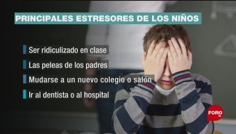 FOTO: ¿Cuáles son los principales factores de estrés en niños?, 19 ABRIL 2019