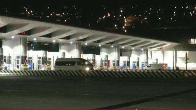 Foto: En la México-Cuernavaca entraban 45 y salían 26 vehículos, el 28 de abril de 2019 (Noticieros Televisa)