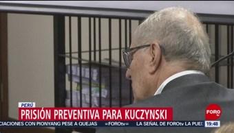 FOTO:Dan prisión preventiva a expresidente Kuczynski por corrupción, 19 ABRIL 2019