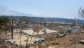 Foto: Desalojo de predio invadido en Chiapas, 2 de abril 2019. Twitter @FGEChiapas