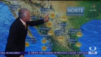 Despierta con Tiempo: Tolvaneras y vientos fuertes en Chihuahua