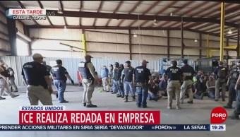 Foto: Detienen Indocumentados Redada Dallas Texas 3 de Abril 2019