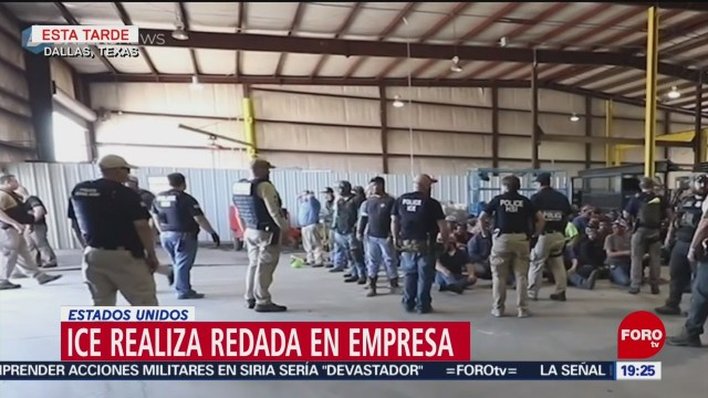Foto: Detienen Indocumentados Redada Dallas Texas 3 de Abril 2019