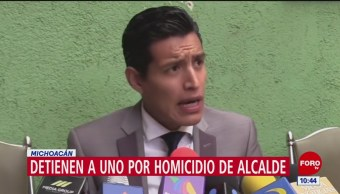 Detienen a sospechoso por asesinato de David Otlica, alcalde de Nahuatzen