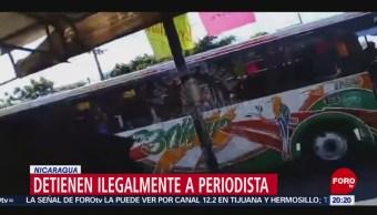 Foto: Detienen Ilegalmente Periodista Nicaragua 17 de Abril 2019