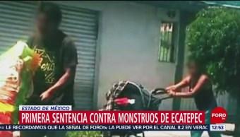 Dictan primera sentencia contra 'Monstruos de Ecatepec' por feminicidio